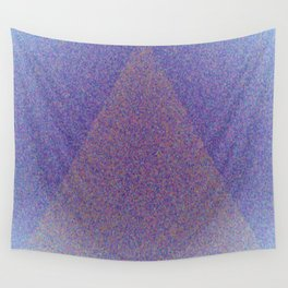 A Blue Point Wall Tapestry