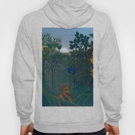 """Henri Rousseau """"The Repast of the Lion"""", 1907 Hoody"""