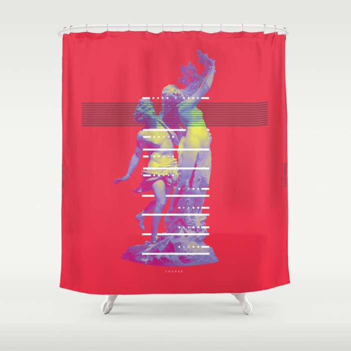 INFINITE LAUREL Shower Curtain