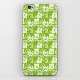 Swanky Mo Lime iPhone Skin