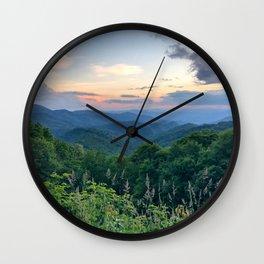 Blue Ridge Parkway 3 Wall Clock