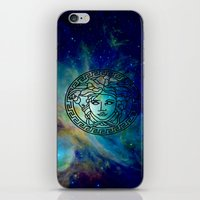 versace iPhone & iPod Skins featuring Versace Nebula  by RickyRicardo787