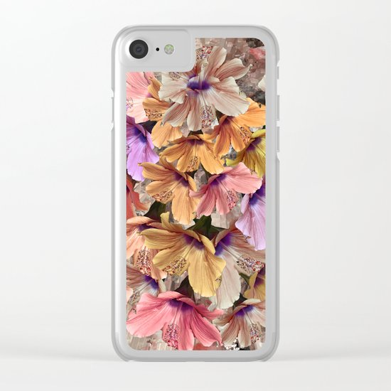 Flower carpet(48) Clear iPhone Case