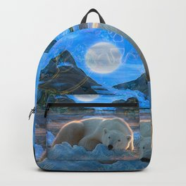 Just Chilling and Dreaming (Polar Bear) Backpack