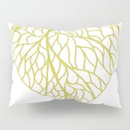 The Linden leaf Pillow Sham