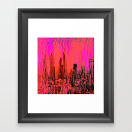 abstract 131 Framed Art Print