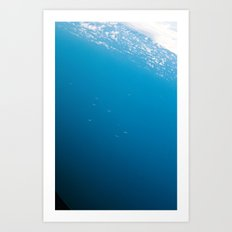 Points in the sea Art Print