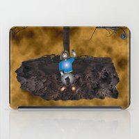 book cover iPad Cases featuring Book Cover Illustration by Conceptualized