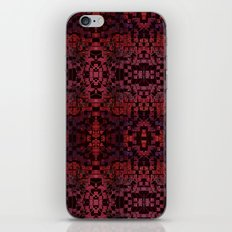 Electric Red Cubes  iPhone & iPod Skin