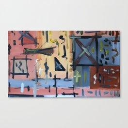 Colourful Chaos Canvas Print