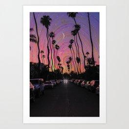 LA Vibes Art Print