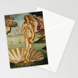 The Birth of Venus (Nascita di Venere) by Sandro Botticelli Stationery Cards