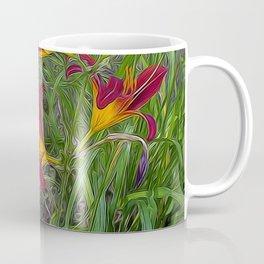 Tiger Lily Garden Coffee Mug