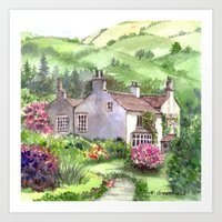 Wordsworth's Home Art Print