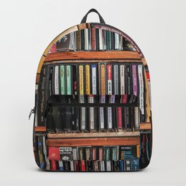 CD's on a Shelf Backpack