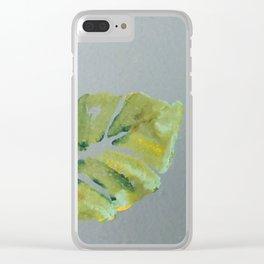 Oak Leaf Clear iPhone Case