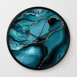 Iceberg Marble Wall Clock