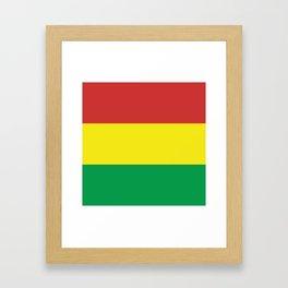IRIE RASTA Framed Art Print