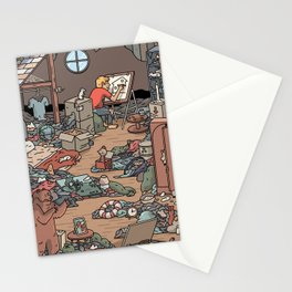 Artist in the Attic Stationery Cards