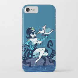 Squeenie & Guy the Gull iPhone Case
