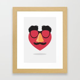 Love in Disguise Framed Art Print