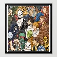 Light Side vs. Dark Side Canvas Print