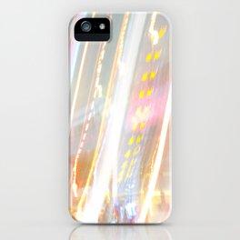 光に濡れる iPhone Case