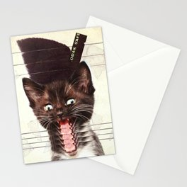Slave To Kitty Stationery Cards