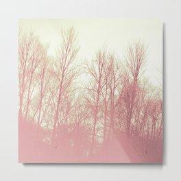Neapolitan Trees Metal Print