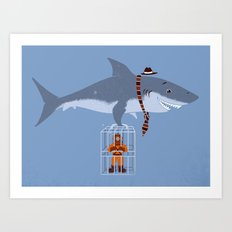 Brought My Lunch!  Art Print