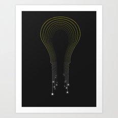 Transfer of Light Art Print