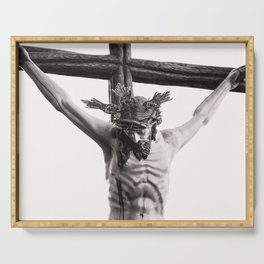 Jesus Serving Tray