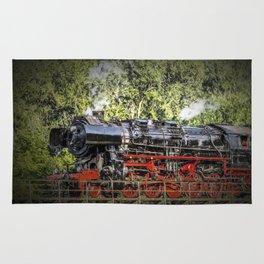 steam train Rug