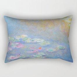 Monet water lilies 1908 Rectangular Pillow