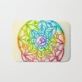 Rainbow Mandala Bath Mat