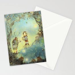 Firefly Forest Stationery Cards