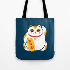 Lucky Cat Tote Bag