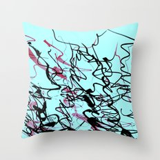 champagne Throw Pillow