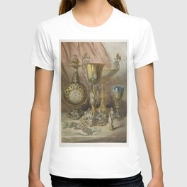 Objects in silver from the Industrial arts of the Nineteenth Century (1851-1853) by Sir Matthew Digb T-shirt