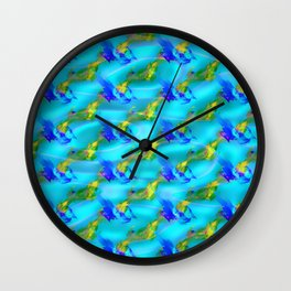 Jolly jumpers pattern Wall Clock