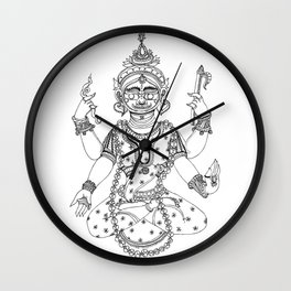 Patachitra Wall Clock