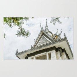 Killing Fields Stupa, Cambodia Rug