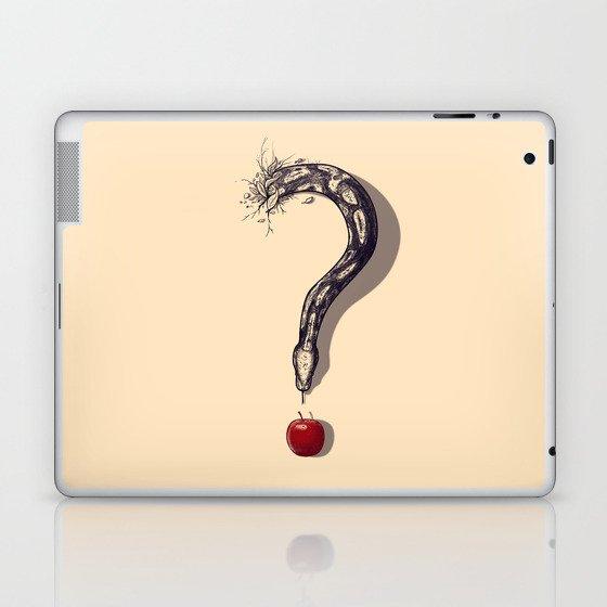 Curious Temptation Laptop & iPad Skin