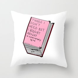 Pointless Things Throw Pillow