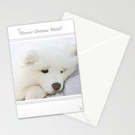 "Christmas "" Treasured "" Stationery Cards"