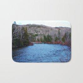 River in Nature Bath Mat