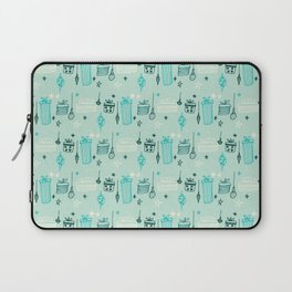 Christmas gift and ornaments Blue Laptop Sleeve