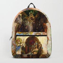 "Gustave Moreau ""The Sacred Elephant (Péri)"" Backpack"