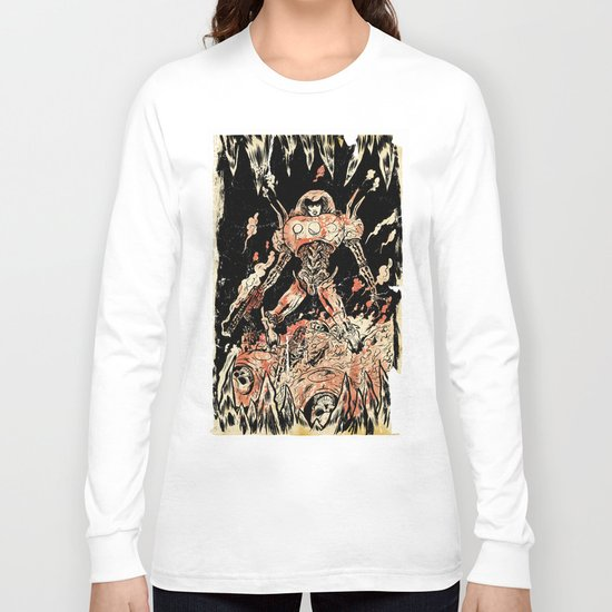 Dogs of Mars pin-up Long Sleeve T-shirt
