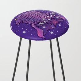 Cosmic Pancake Counter Stool